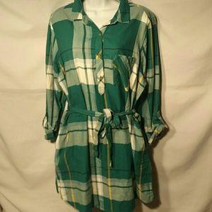 SO Shirt Dress - Plaid Mini